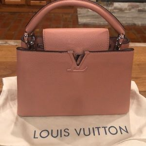 Louis Vuitton Capucines BB M94635 NEVER USED